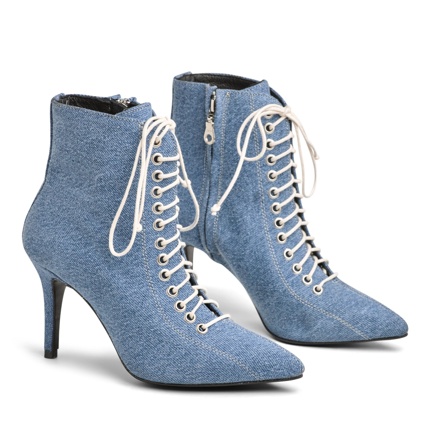 The Delancey Boot - Denim