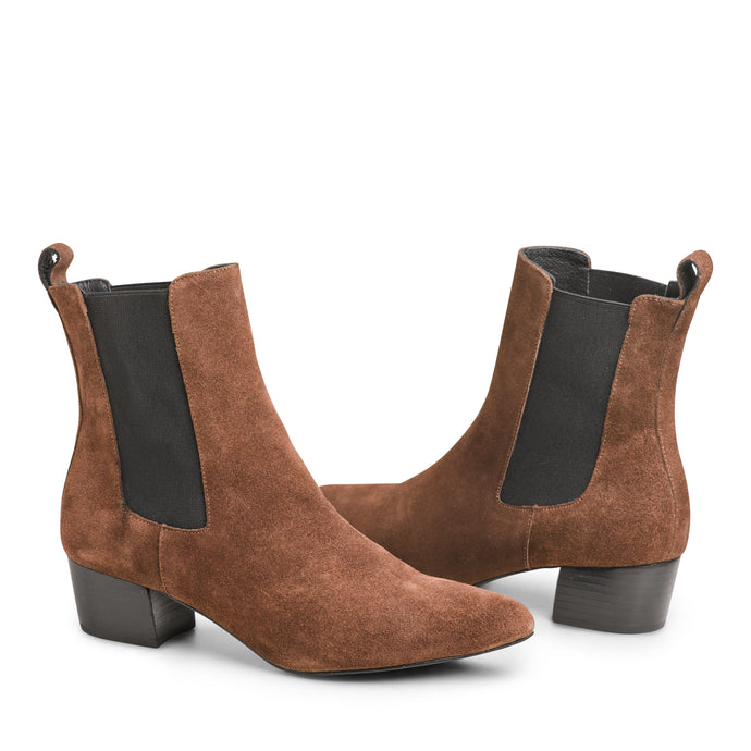 The Mercer Boot - Chocolate Brown