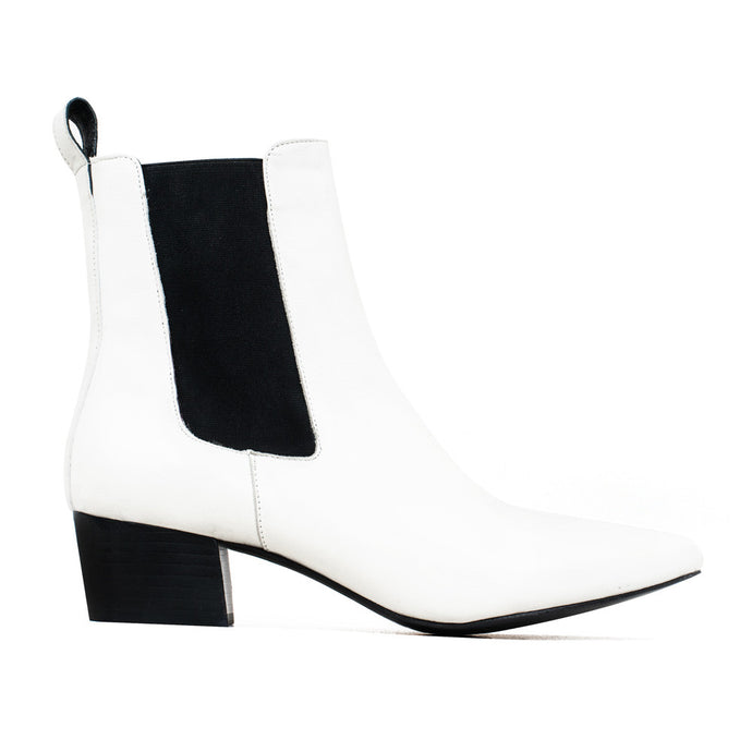 The Mercer Boot - Ivory