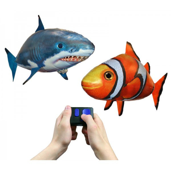 Flying fish toys for Remote control air swimming fish