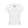 C4 Logo White Women's V-Neck