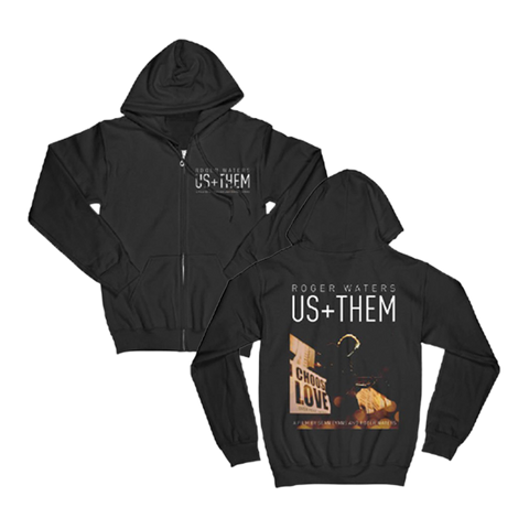 Us+Them Choose Love Zip Hoodie