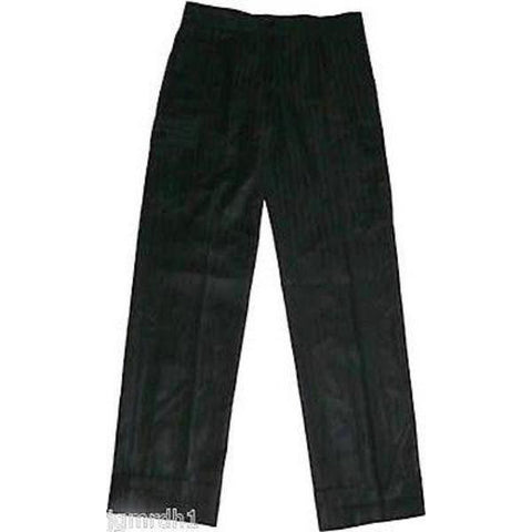 NWT BARBARA BUI Paris trouser slacks pants 36 $683 silky smooth sheen stripe - Jenifers Designer Closet