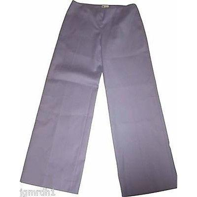 COLOMBO pants designer slacks trousers 46 X 33 lavender wide leg flare-Pants-Colombo-46-Lavender-Jenifers Designer Closet