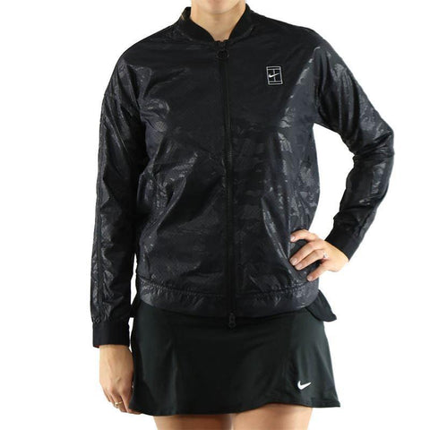 NIKE Court bomber jacket for US OPEN $200 water repellant tennis-Coats & Jackets-Nike-Jenifers Designer Closet