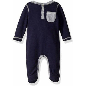 7 For All Mankind 3-6 mo infant baby onesie footie footed outfit snap gift