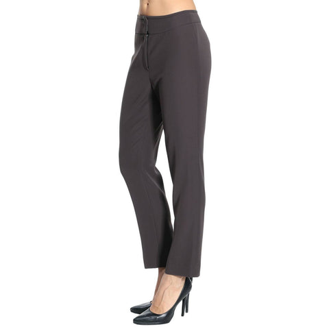 GIORGIO ARMANI COLLEZIONI 50/14 pants trousers slacks career $495 retail-Clothing, Shoes & Accessories:Women's Clothing:Pants-Armani Collezioni-14/50-Gray-Jenifers Designer Closet