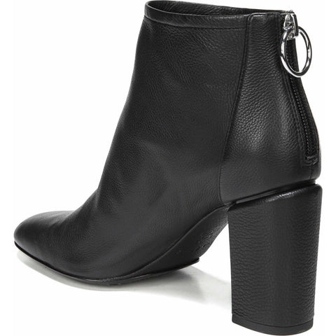 VIA SPIGA Italy Booties Boots 35 5 smooth leather heels shoes zipper heel-Clothing, Shoes & Accessories:Women's Shoes:Boots-Via Spiga-35-Black-Jenifers Designer Closet
