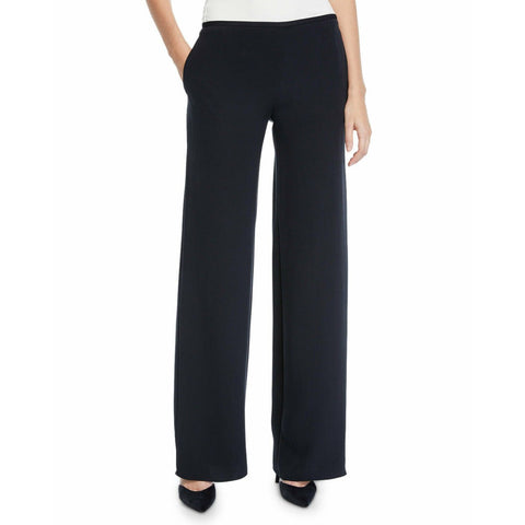 GIORGIO ARMANI COLLEZIONI Size 14 50 wool wide leg career pants slacks-Clothing, Shoes & Accessories:Women:Women's Clothing:Pants-Armani Collezioni-Jenifers Designer Closet