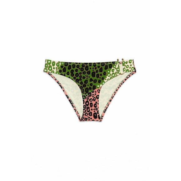 DEREK LAM 10 Crosby bikini bottom XS U-wire leopard design-Clothing, Shoes & Accessories:Women's Clothing:Swimwear-10 Crosby Derek Lam-XS-Carnation-Jenifers Designer Closet