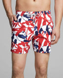 VILEBREQUIN XL (34-36) swim trunks panda bear men's swimsuit shorts Moorea