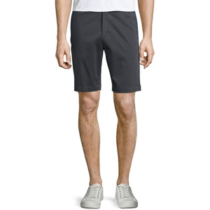 THEORY men's shorts 34 Brucer dark grey (near black) designer bermuda $185