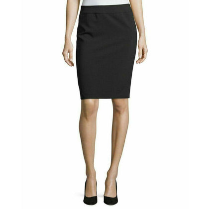 GIORGIO ARMANI US-14 IT-50 Collezioni career skirt straight knee-length-Clothing, Shoes & Accessories:Women:Women's Clothing:Skirts-Giorgio Armani-Jenifers Designer Closet