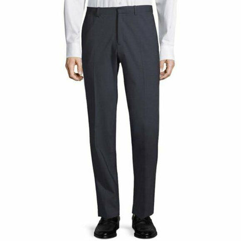 THEORY Men's 33 Marlo Ostro charcoal 100% wool trousers suit pants business-Clothing, Shoes & Accessories:Men:Men's Clothing:Pants-Theory Men's-33-Charcoal-Jenifers Designer Closet