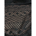 KENNETH COLE XL black one piece swimsuit crochet criss cross back maillot-Clothing, Shoes & Accessories:Women's Clothing:Swimwear-Kenneth Cole-XL-Black-Jenifers Designer Closet
