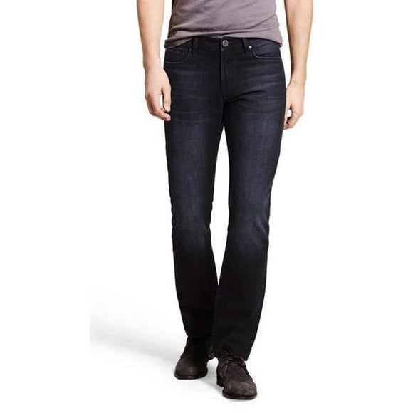 NWT DL1961 Men's 28 X 36 Russell slim straight jeans $178 designer black Alonso