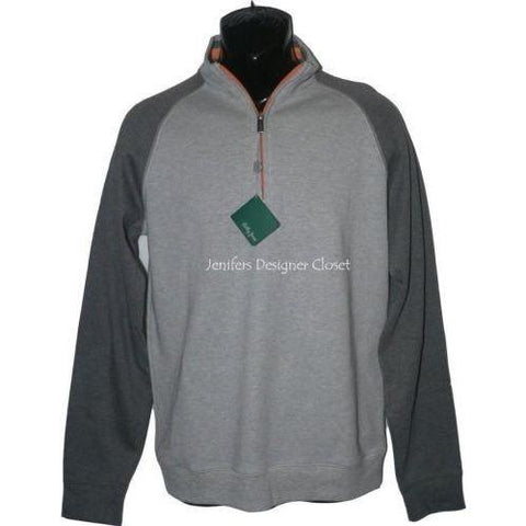 Bobby Jones golf gray pullover quarter zip