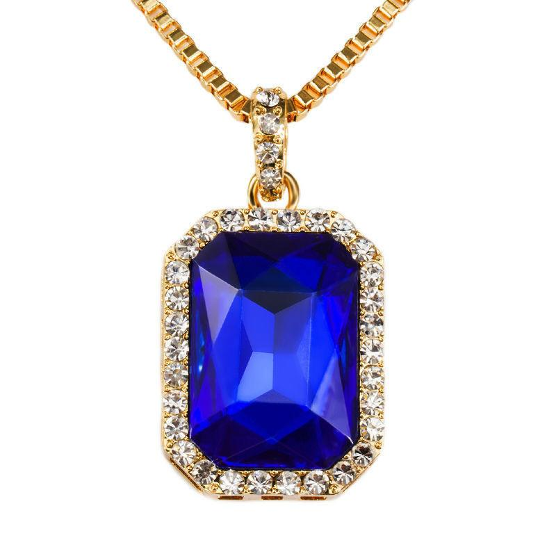 Gem pendant necklace ruby pltd gem pendant necklace ruby aloadofball Image collections