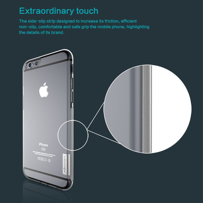 Ultra Thin Transparent Soft Silicone Case Cover