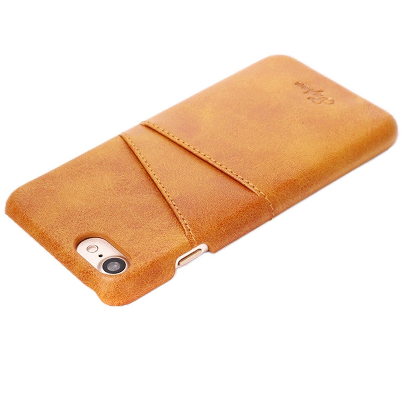 Leather Luxury Wallet Case with Card Slots