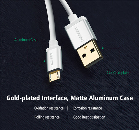 Micro USB Cable 2.1A Fast Charging And Data Transfer-US