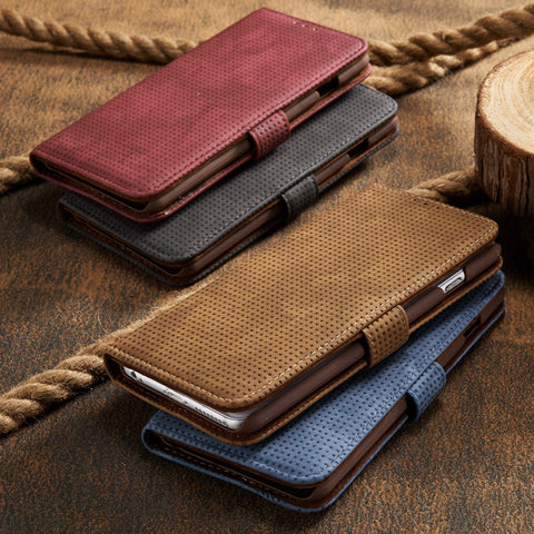 Luxury Retro Flannelette Wallet
