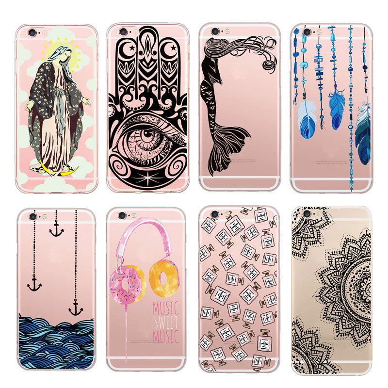 Ultra thin transparent Case with awesome designs