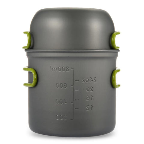 Ultralight Outdoor Camping & Backpacking Cookware Pot & Pan
