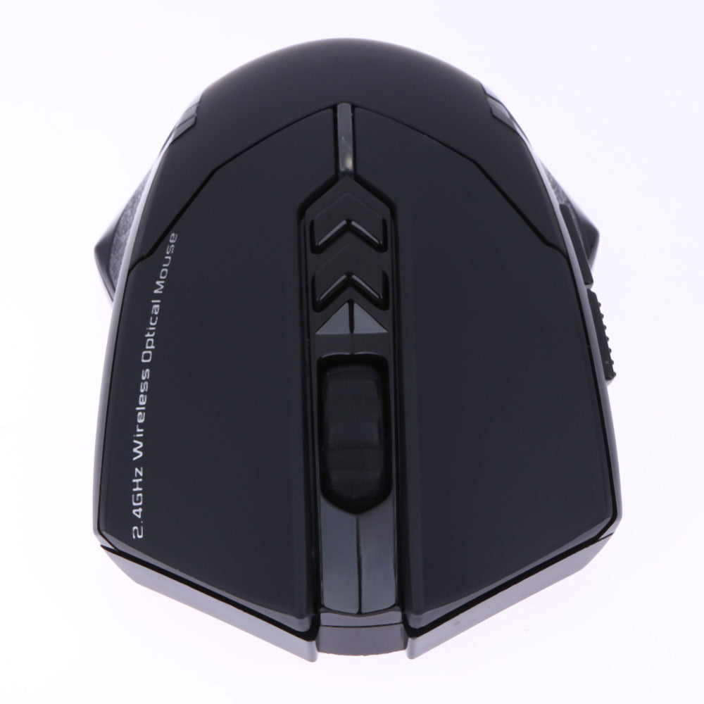 2400 DPI Adjustable 2.4G Wireless Gaming Mouse 7 Buttons LED Optical