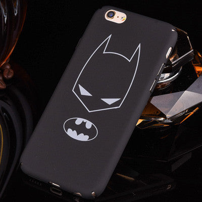 Ultra-thin minimalistic Batman and Ironman case