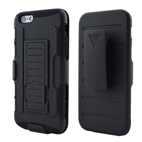 Tough Military Hybrid Clasp and Kickstand Case