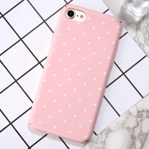 Cute Polka Dots Hard Shell Case