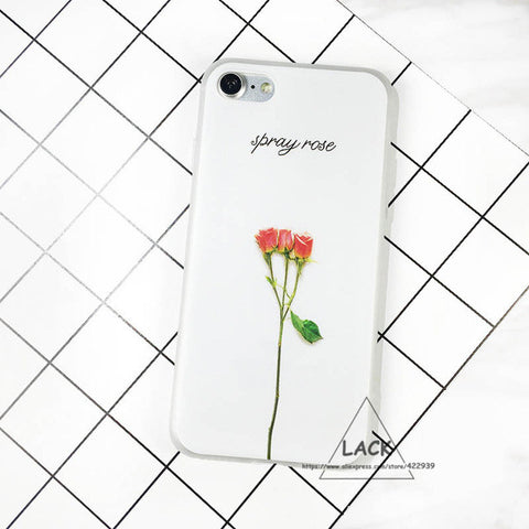 3D Leaf Cartoon Soft Slim Case