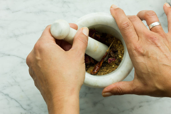 Grounding spices in Online Cooking Class