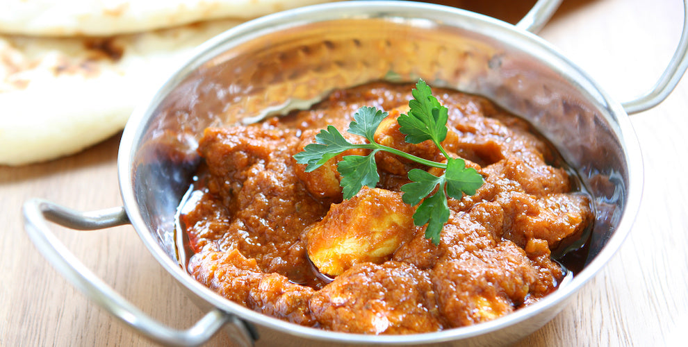GJ's Family Vindaloo (vegetarian option)