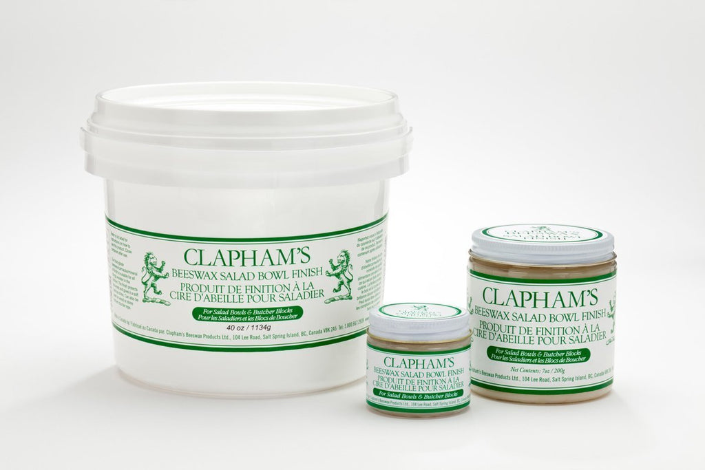 Claphams Beeswax 50g (small container)