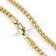 "24"" Gold Filled Box Chain"