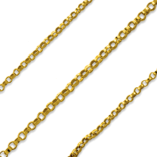 "24"" Gold Filled Rolo Chain"