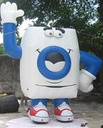 Inflatable Washing Machine Man