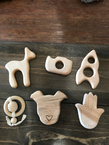 Hardwood Teether