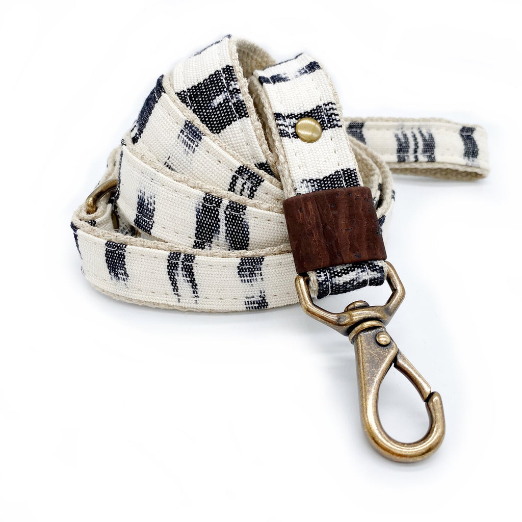 Woven Cotton + Hemp Dog Leash