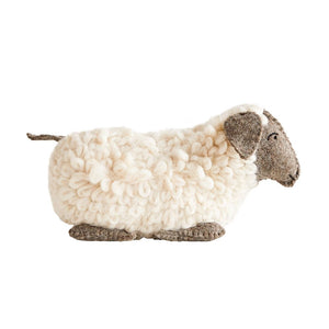 Wool Sheep Weighted Door