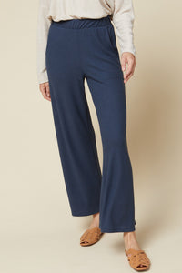 High-waisted Pants with Side Pockets