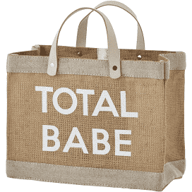 Total Babe Mini Market Tote