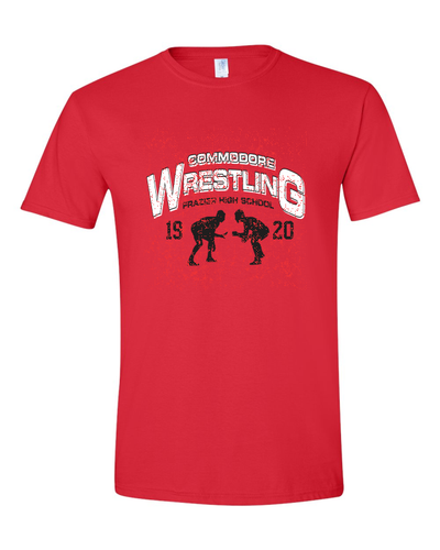 Frazier HS Wrestling - Softstyle T-Shirt