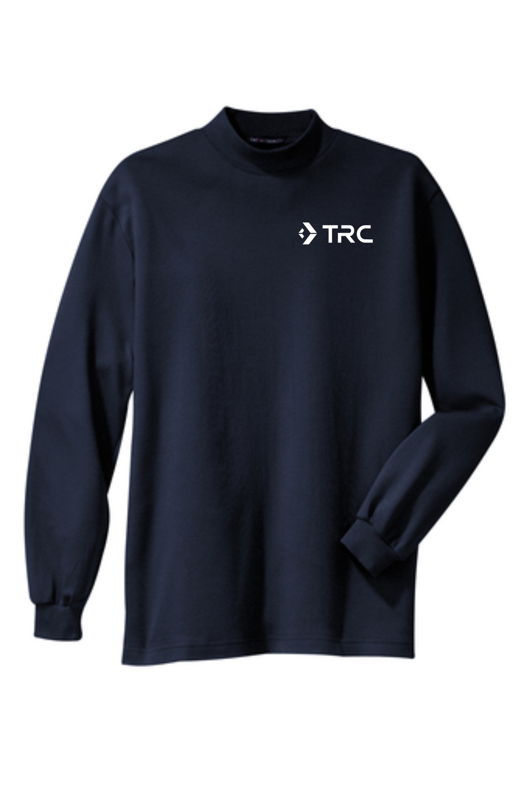 TRC - Port Authority Interlock Knit Mock Turtleneck