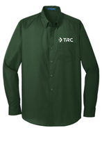 TRC - Port Authority Long Sleeve Carefree Poplin Shirt