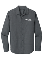 TRC - Port Authority Pincheck Easy Care Shirt