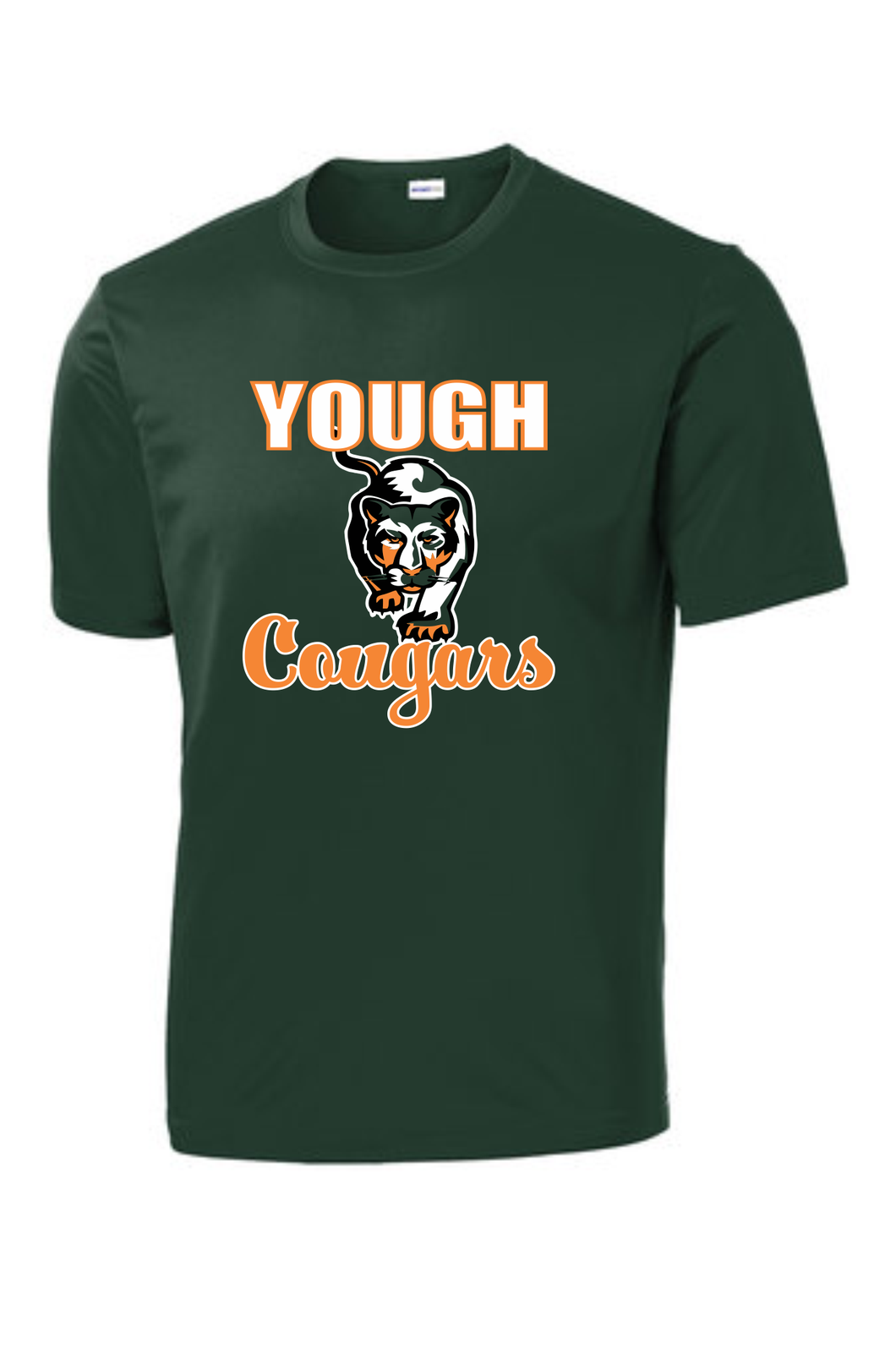 Yough Cougars Printed Performance T-Shirt