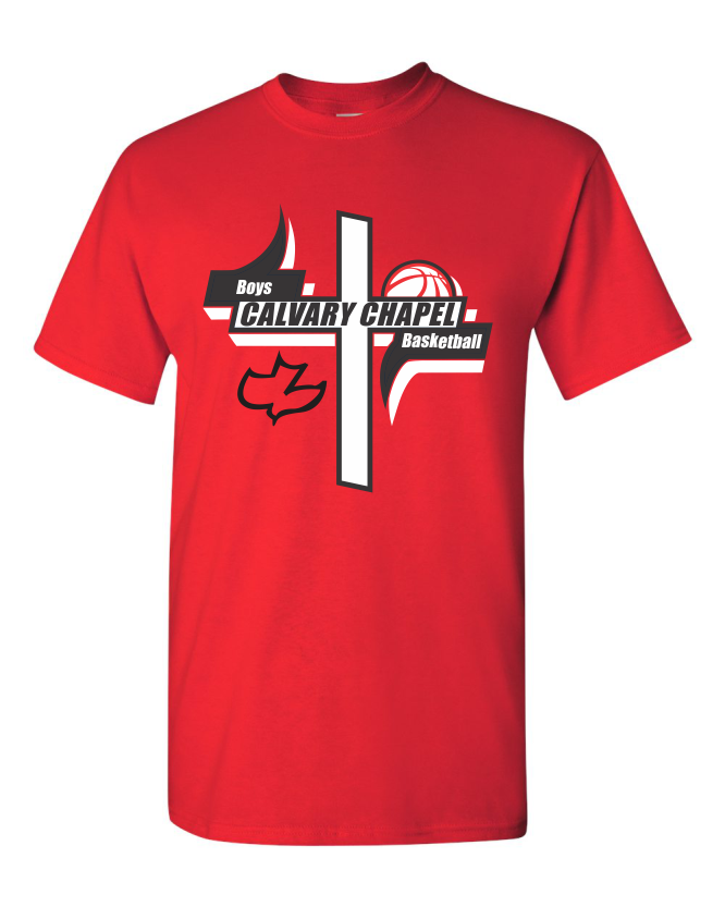 Calvary Chapel Boys Basketball T-Shirt